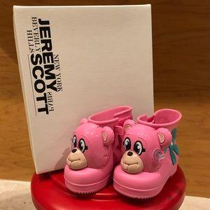 Mini Melissa + Jeremy Scott Monkey Boot